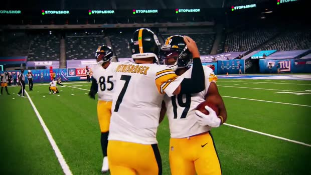 JuJu Smith-Schuster reacts to Alejandro Villanueva's TikTok dance comment