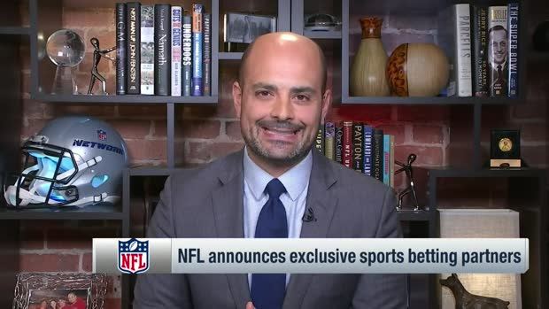 Mike Garafolo details NFL's new exclusive sportsbook partnerships