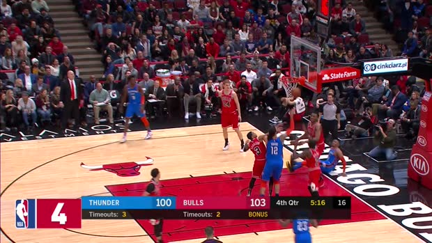 WSC: Top 5 Blocks on Dunk Attemps