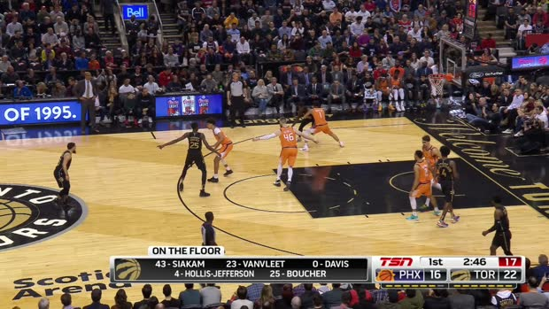 GAME RECAP: Raptors 118, Suns 101