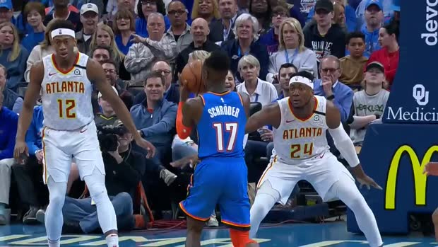 WSC: Dennis Schroder (21 points) Highlights vs. Atlanta Hawks