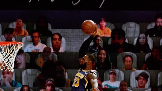 Best of Slow Motion Images: Dunks from NBA Restart