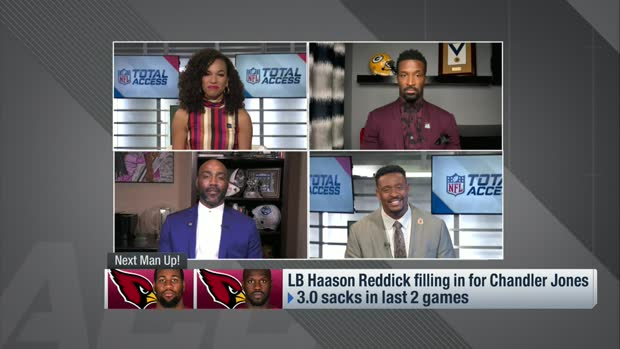 McGinest: Haason Reddick realizing his Round 1 potential in 2020