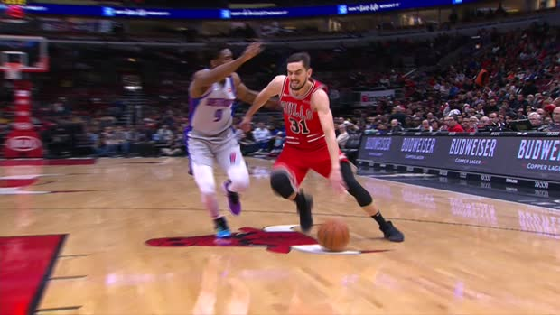 Assist of the Night - Tomas Satoransky