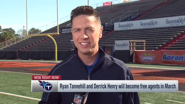 NFL Network's Tom Pelissero: Titans have tough decisions in FA with running back Derrick Henry, quarterback Ryan Tannehill