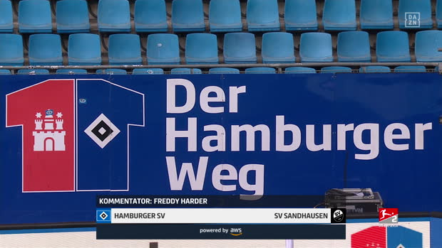 2. Bundesliga: Hamburger SV - SV Sandhausen | DAZN Highlights