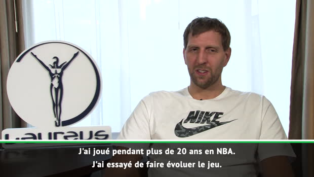 Basket : NBA - Nowitzki honoré de recevoir le Laureus World Awards du sport
