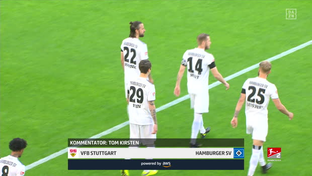 2. Bundesliga: VfB Stuttgart - Hamburger SV | DAZN Highlights