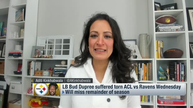 Kinkhabwala explains Steelers players' reaction to Bud Dupree's torn ACL