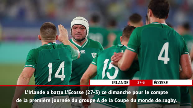 Rugby : Fast Match Report - Irlande 27-3 Écosse