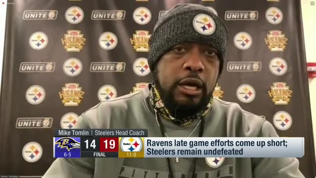 Tomlin: Steelers' performance 'unacceptable' in win vs. Ravens