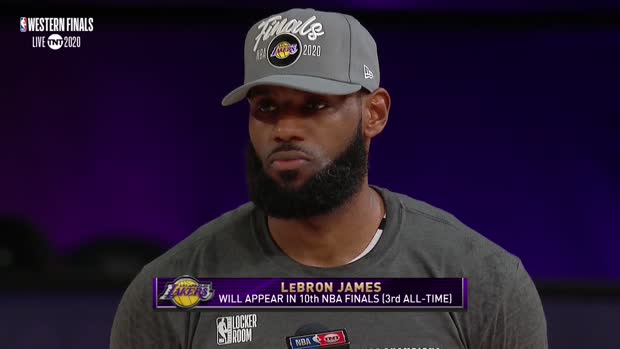 LeBron James Postgame Interview
