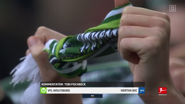 Bundesliga: VfL Wolfsburg - Hertha BSC | DAZN Highlights