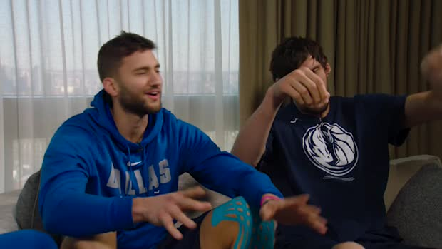 Straight to the cup mit Luka Doncic, Maxi Kleber und Boban Marjanovic