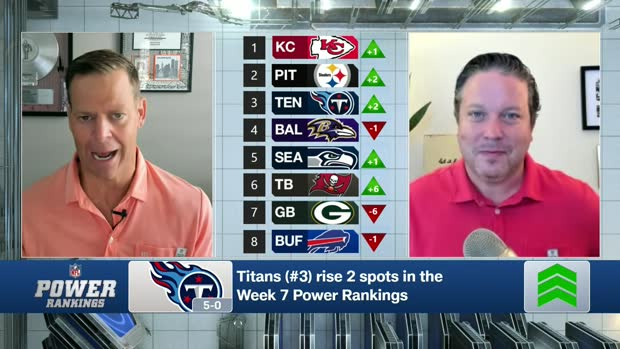Hanzus: Why Titans reach Top 3 in Week 7 power rankings