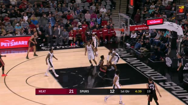 GAME RECAP: Spurs 107, Heat 102