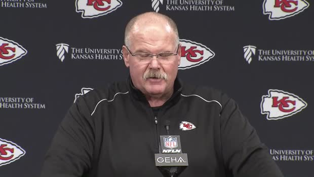 Kansas City Chiefs head coach Andy Reid celebrated AFC Championship with cheeseburger and bed