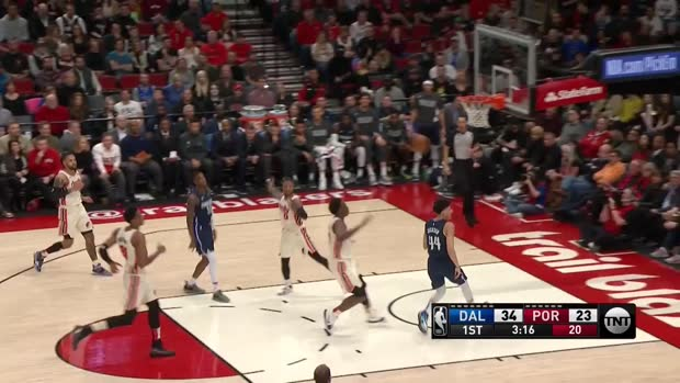 WSC: Maxi Kleber 15 points vs the Blazers