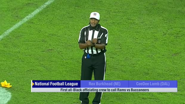 Rams-Bucs Monday Night Football will feature first all-Black officiating crew in NFL history