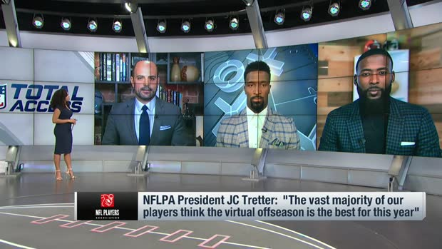 Mike Garafolo, James Jones, Andrew Hawkins discuss pros, cons of virtual offseason
