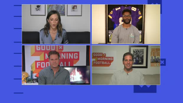 'GMFB' shares first impressions of Stefon Diggs in Buffalo