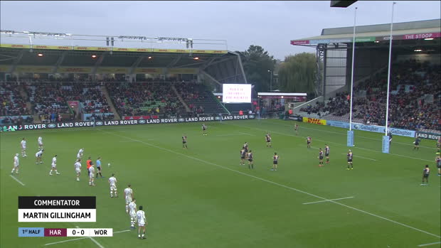 Aviva Premiership : Aviva Premiership - Highlights - Harlequins v Worcester Warriors - Round 4