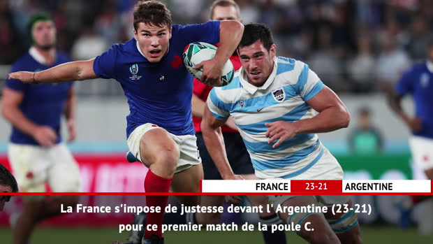 Rugby : Fast Match Report- France vs. Argentine