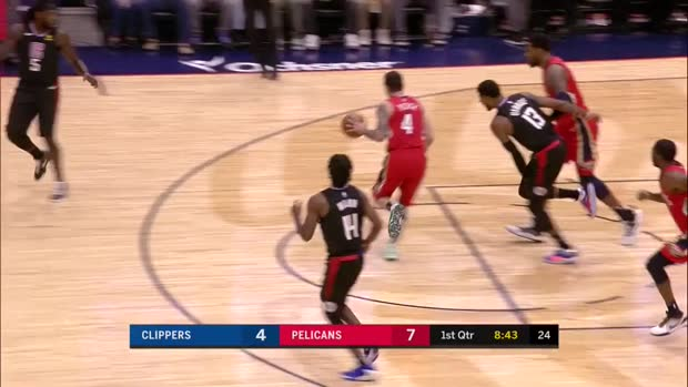 WSC: Jrue Holiday with 36 Points vs. LA Clippers