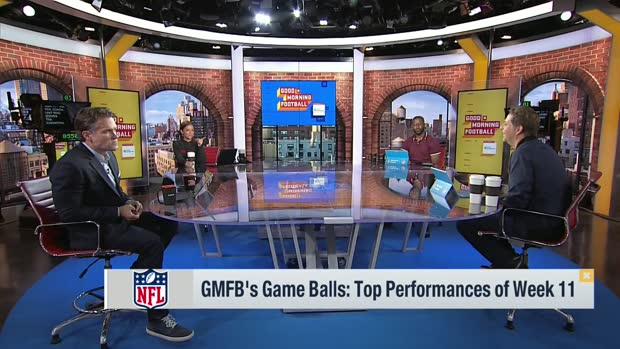 'GMFB' awards game balls for Week 11