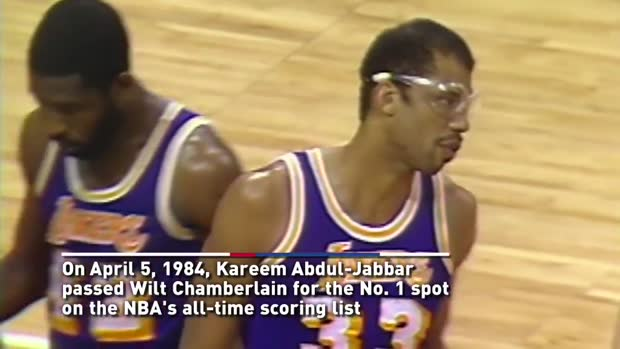 05. April 1984: Abdul-Jabbar bricht Punkte-Rekord | NBA Archiv