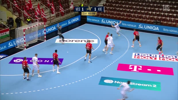 EHF Champions League: Veszprem - Kiel | DAZN Highlights