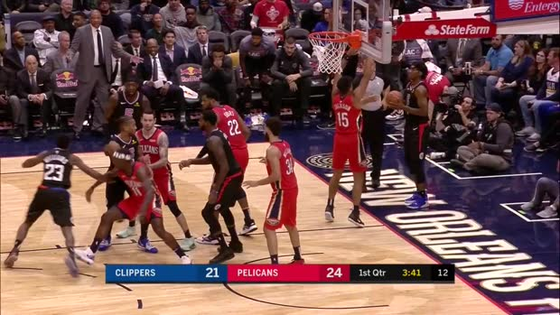 WSC: Lou Williams with 31 Points vs. New Orleans Pelicans