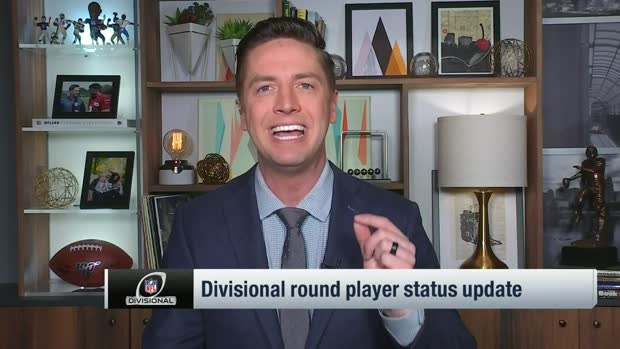 Pelissero breaks down player updates for Divisional Round