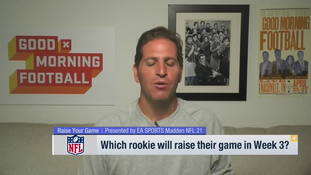 'GMFB': Rookies who will raise their game in Week 3