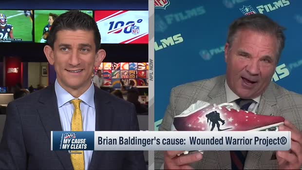 Brian Baldinger reveals his My Cause My Cleats