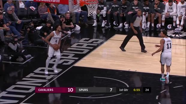 WSC: Kevin Love with 30 Points vs. San Antonio Spurs