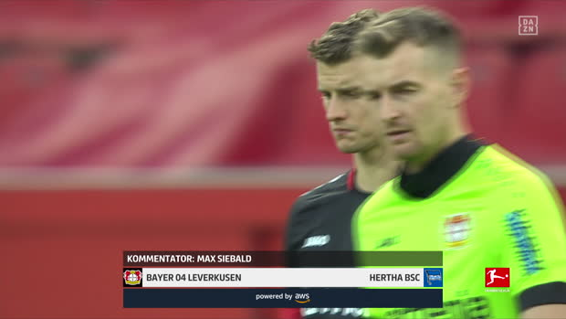 Bundesliga: Bayer 04 Leverkusen - Hertha BSC | DAZN Highlights