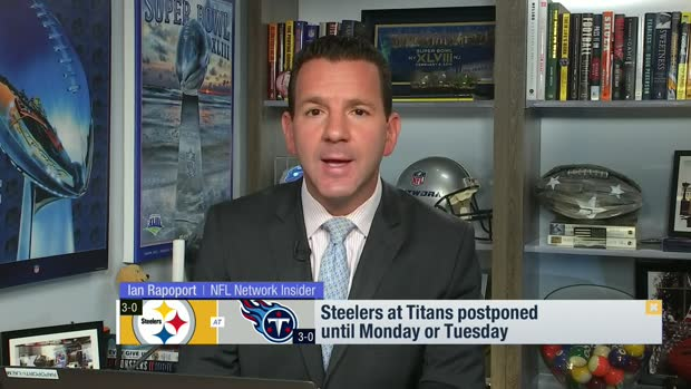 Rapoport: Steelers at Titans postponed until Monday or Tuesday