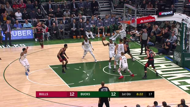 GAME RECAP: Bucks 124, Bulls 115