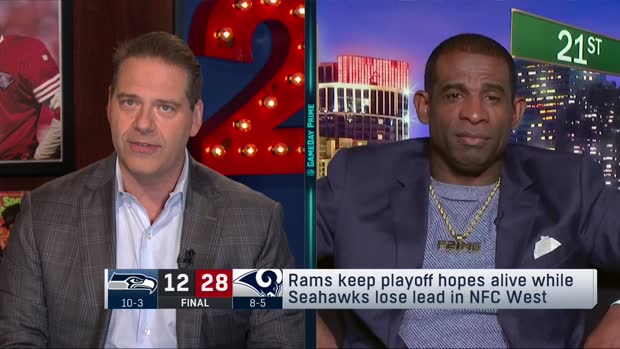 NFL Network's Deion Sanders evaluates Los Angeles Rams' chances to go on a run