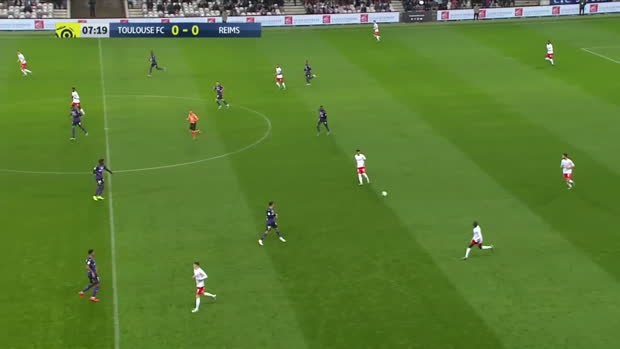 Ligue 1: Toulouse - Reims | DAZN Highlights