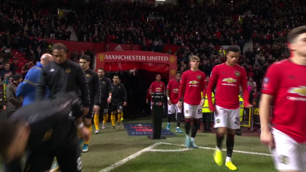 FA Cup: Manchester United - Wolverhampton Wanderers | DAZN Highlights