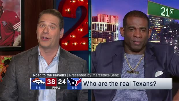 Who are the real Houston Texans? Deion Sanders evaluates the team