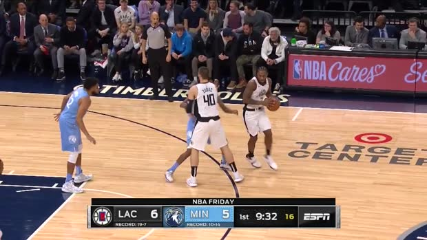 WSC: Karl-Anthony Towns with 39 Points vs. LA Clippers