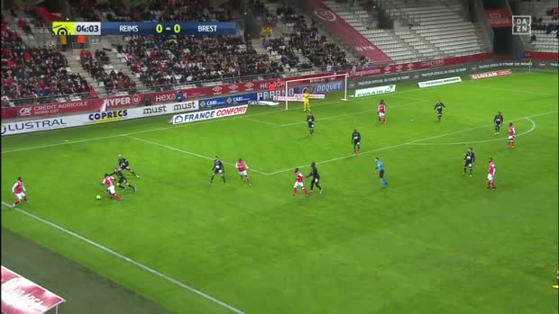 Ligue 1: Reims - Brest | DAZN Highlights