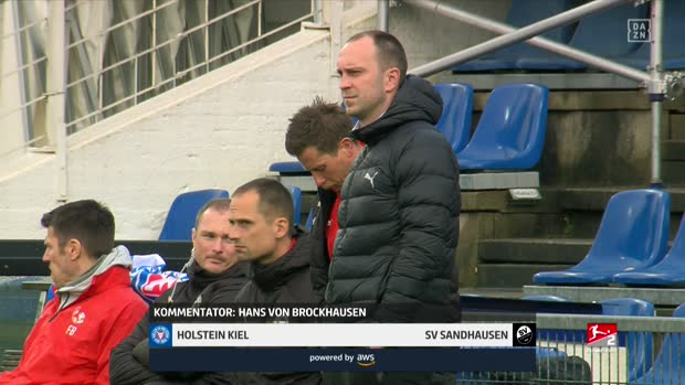 2. Bundesliga: Holstein Kiel - SV Sandhausen | DAZN Highlights