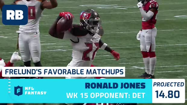 Cynthia Frelund's 10 most favorable Flex matchups | Week 15