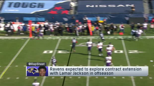 Rapoport: Ravens, Lamar Jackson expected to explore 'big money' contract extension this offseason