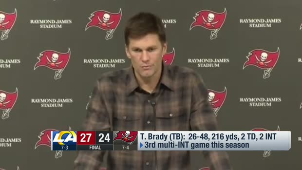 Tom Brady breaks down what went wrong in two-INT loss on 'MNF'