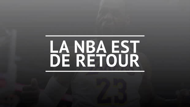 Basket : La NBA fait son grand retour !